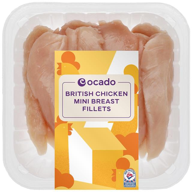 Ocado British Mini Chicken Breast Fillets 425g From Ocado