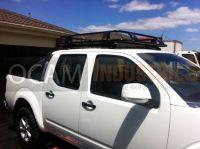 OCAM Aluminium Roof Rack Cage for Nissan Navara D40 Dual ...