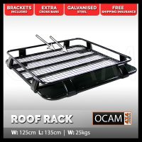 OCAM Steel 1/2 Half Cage Roof Rack for Patrol GQ GU ...