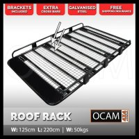 Steel Full Length Tradesman Roof Rack Universal for PATROL ...
