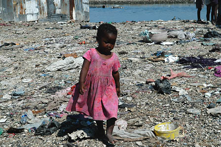 Heartbreaking images of Haitian poverty