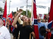 Thousands of people rally in support of the Confederate Battle Flag across the South