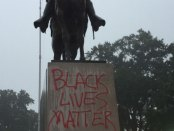 #BlackLivesMatter supporters vandalize Forrest statue in Memphis