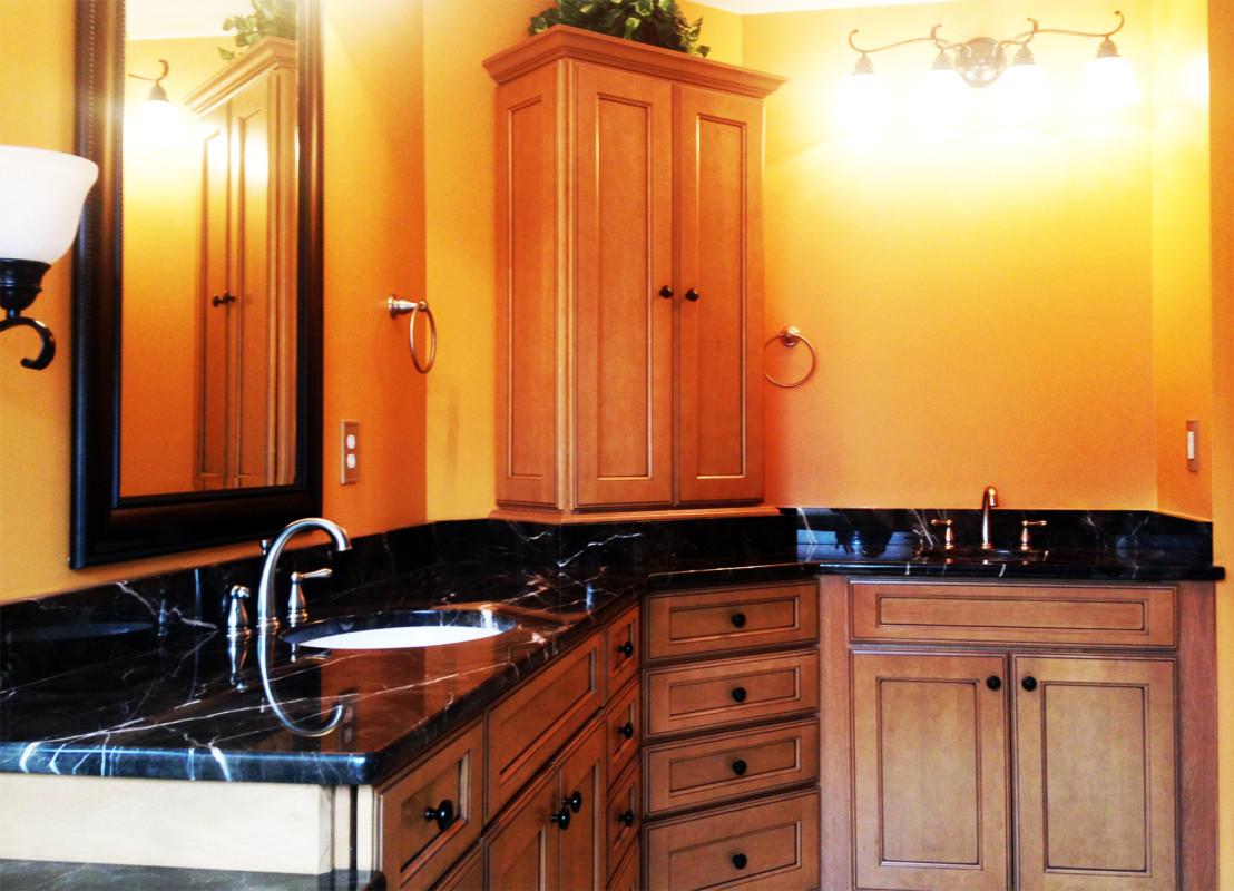 Custom Bathroom Vanities Richmond Va bathroom cabinets richmond va