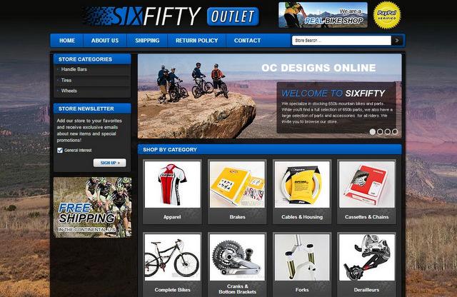 Bike Shops It\u0027s Easy to Get a Custom eBay Store Design - ebay store templates