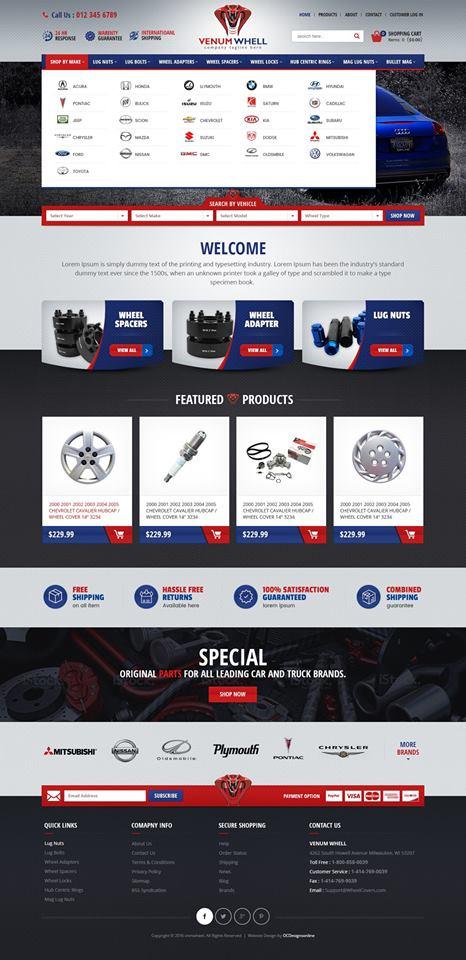 Professional Shopify Themes - OCDesignsOnline - shopify template