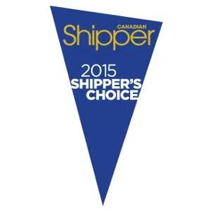Shippers Choice Award 2015