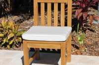 Sunbrella Java Armchair/Chair Cushion  Oceanic Teak Furniture