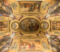 Chateau Versailles Ceiling Paintings  Natural History ...