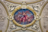 Ceiling Art, Musee du Louvre, Paris  Natural History ...