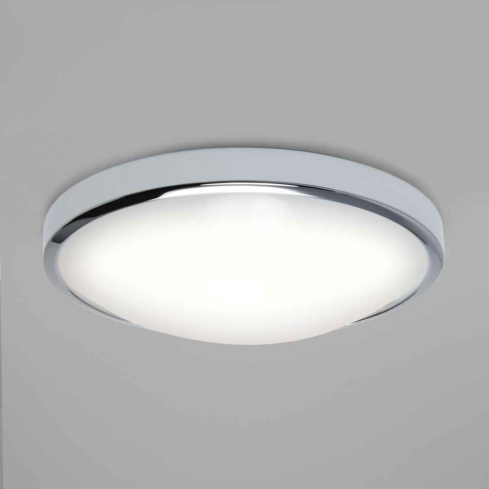 Astro 7831 Osaka LED Flush Ceiling Light Polished Chrome IP44