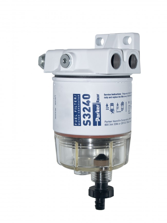 Gasoline Fuel Filter / Water Separator, 120R-RAC-01 - Ocean Link Inc