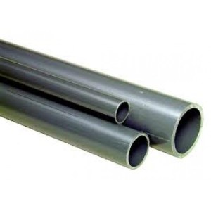 OCEANSING PVC High Quality Thick (Grey) Piping - 30mm Diameter