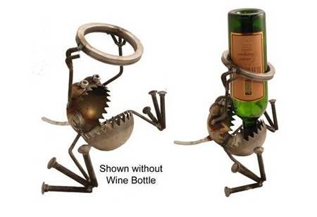 12 Creative Bottle Holders Wine Holders Wine Bottle