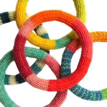 Knitted Bracelets Free Patterns : Jewelry Knitting Patterns In the Loop Knitting