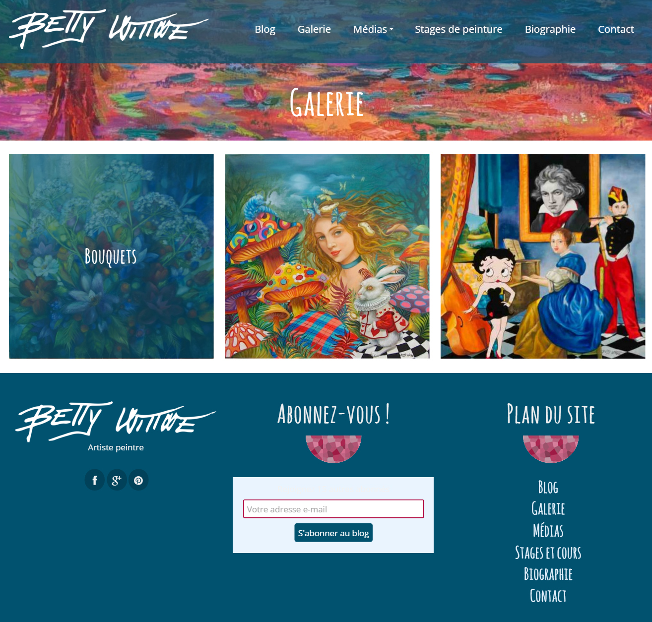 Site de Betty Wittwe