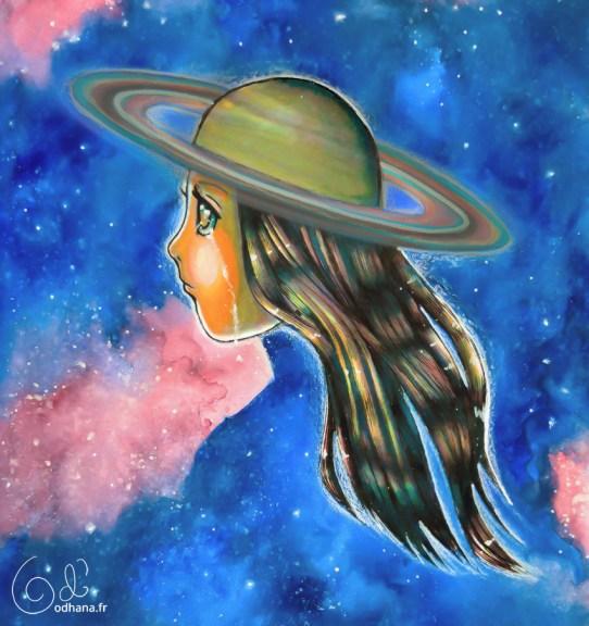 Saturne, planète animiste