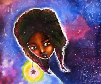 Ananke, peinture cosmique