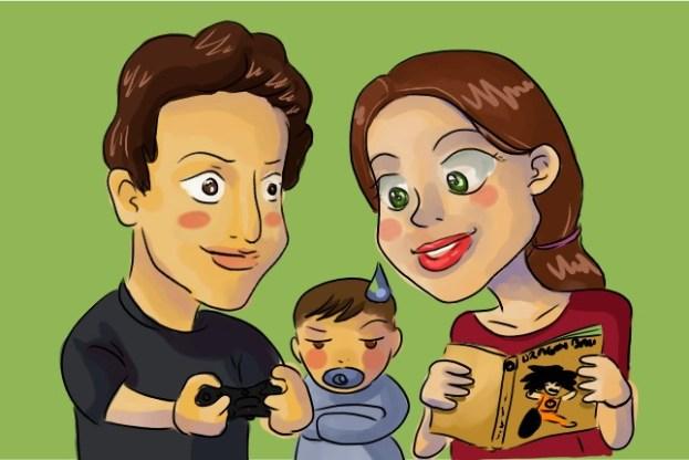 Famille de geeks