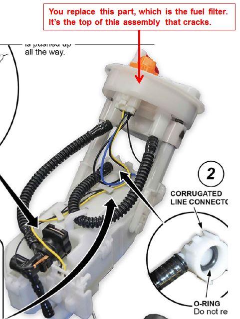 Fuel Pump Unit In Honda Odyssey Wiring Diagram