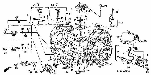 1995 Honda Odyssey Engine Diagram Electronic Schematics collections