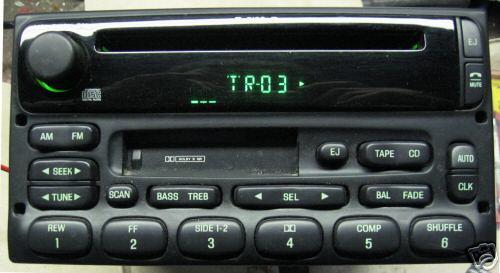 Ford Explorer Expediton Radio CD player F87F-18C868-AC