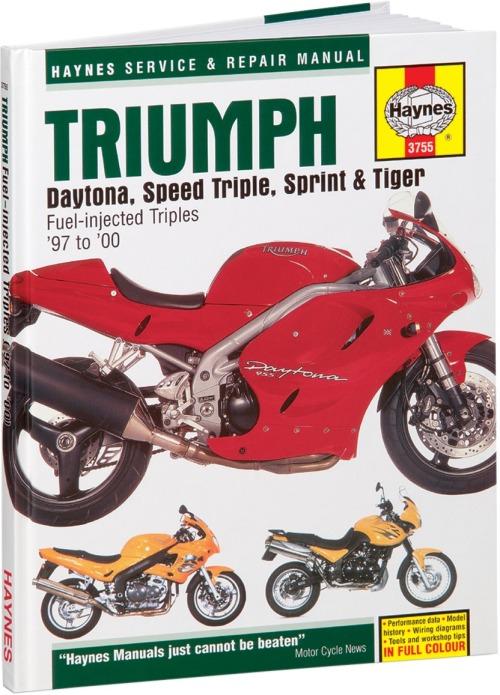 Haynes Triumph Motorcycle Repair Manual M3755