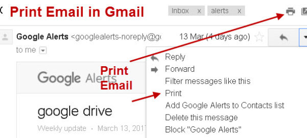 Read, Reply and Forward Email in Gmail