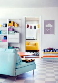 Pastel colors in the living room   Interior Design Ideas ...