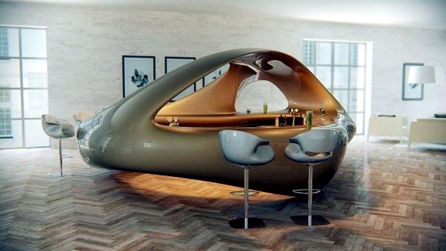 Toll ... Liubja Lounge Bar Design Mit Skulpturellem Charakter Von Nuvist   Ergonomisches  Design Stuhl Nuvist Eidos ...