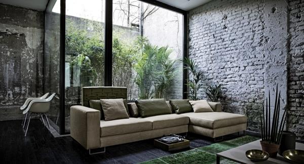 Best Design Sofa Plat Von Arketipo Mit Integriertem Regal Und
