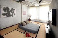 Room with minimalist Japanese influences | Interior Design ...
