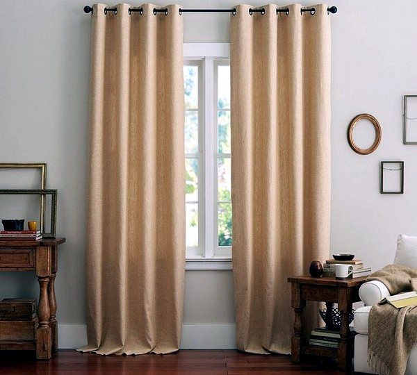 Matching curtains and drapes adorn the windows 30
