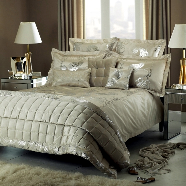 Black Glitter Wallpaper Bedroom Luxury Bedding Kylie Minogue Satin Sequins And Elegant