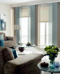 Cozy living room in earth tones in combination with the