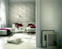 Romantic room with red decorative objects   Interior ...