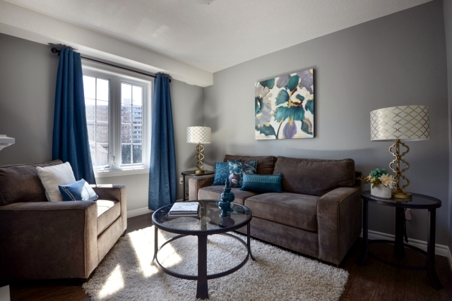 Color ideas for living room  gray wall paint.
