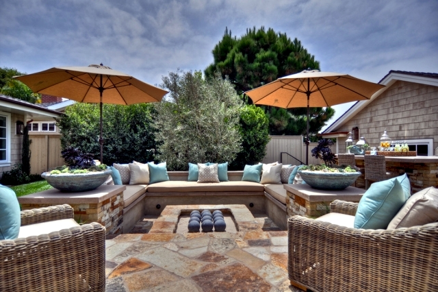 25 Ideas for a seating area for outside and inside the exclusive - a seating