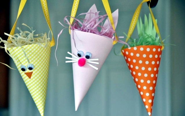 Cozy 15 Great Ideas For Easter Paper Crafts With The Kids Castrophotos