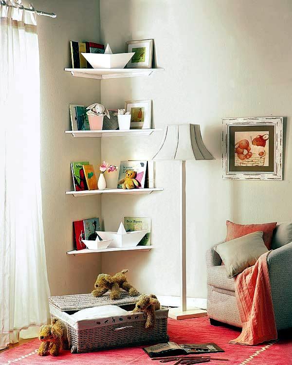 Corner Shelves For Living Room Home Design - living room corner shelf