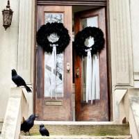 Halloween on the doorstep  spooky decoration ideas for