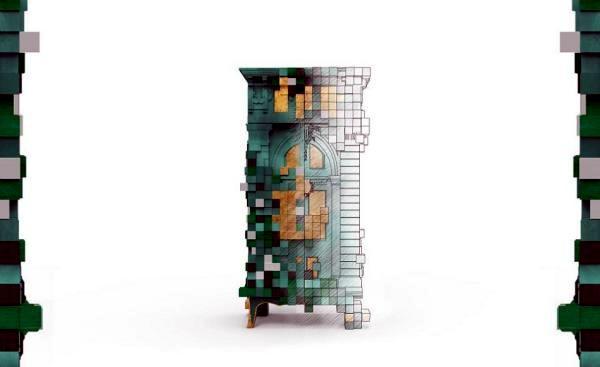 Piccadilly Kollektion Boca Do Lobo - Design - bad design geometrische asthetik giano serie rexa design
