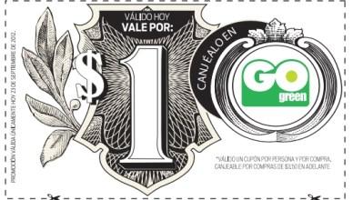 Go Green  - Cupon 1  - 23SEP2012