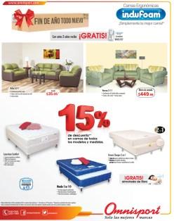 Descuentos Omnisport.com en camas indofoam - 15nov13