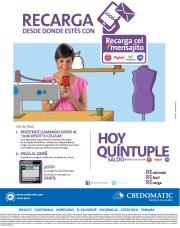Recarga CEL Mensajito quintuple saldo - 15nov13