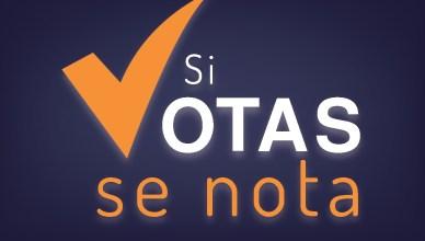 Elecciones 2014 el salvador SI VOTAS SE NOTA