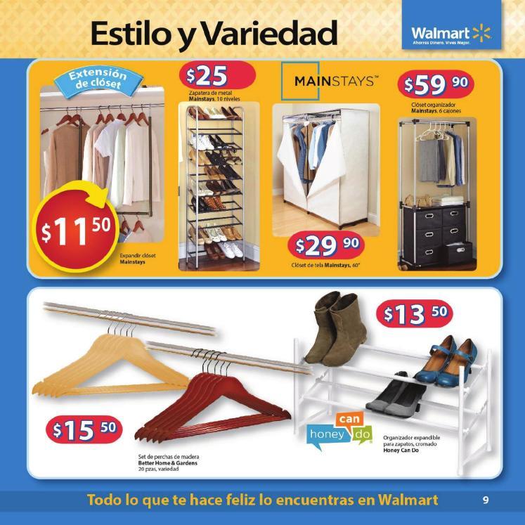 estimo y variedad en tu alcoba con Walmart Guia de compras No3 2014