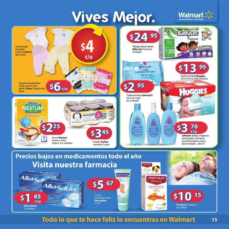 promociones para tu bebe Walmart Guia de compras No3 2014