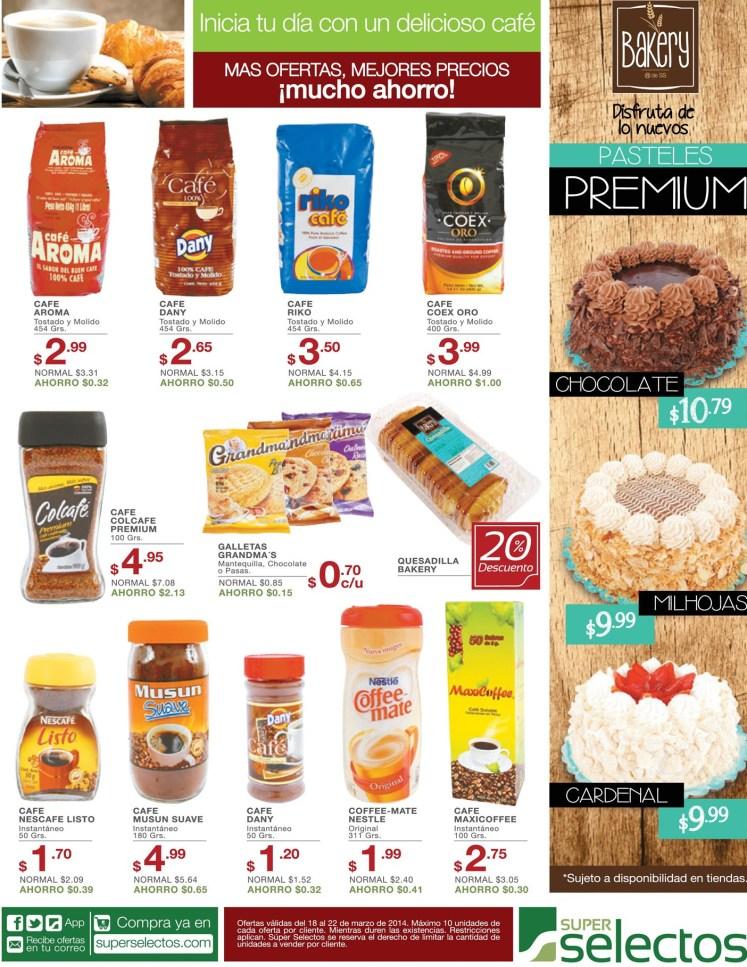 Ofertas de Super Selectos CAFE aroma dany riko coex oro - 18mar14