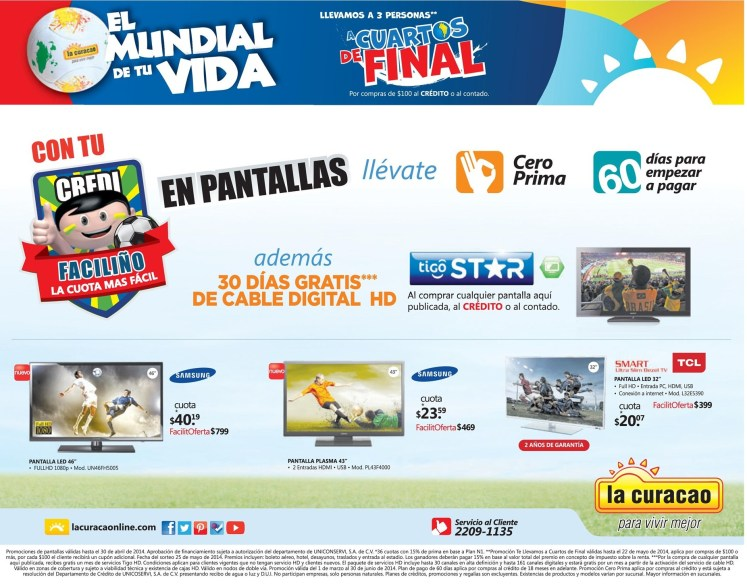 el mundial de tu vida FACILIÑO pantallas HD - 23abr14